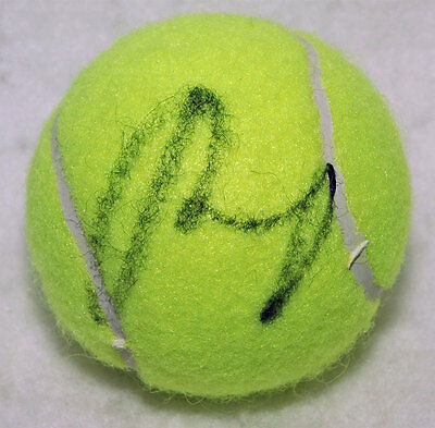 Andy Murray Tennis autograph, In-Person signed Tennis Ball - Proof