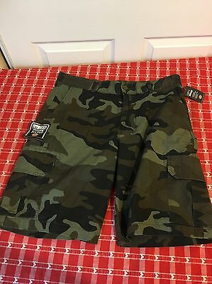 DICKIES MENS Size 34 CAMO CARGO SHORTS. RELAXED FIT. (NEW WITH TAGS)