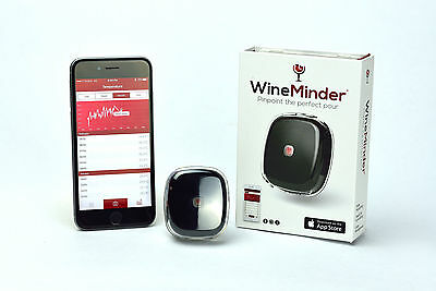 WineMinder™ - iOS Powered Wine Monitor/Accessory -  VALENTINES SALE! SAVE $20!