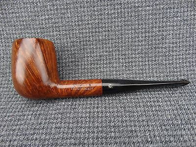 """R - VTG Estate Tobacco Pipe Marked """"Comoy's Christmas 1977"""" Restored"""
