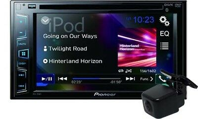 Pioneer AVH-295BT Bluetooth Multimedia Stereo & Camera with GEN PIONEER WARR