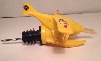 Rare Canadian Mist Airplane Whiskey Pourer Spout
