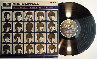 The Beatles A Hard Days Night Original Uk Lp 1964 Pmc 1230 Xex 481 3N - Vg+/vg+