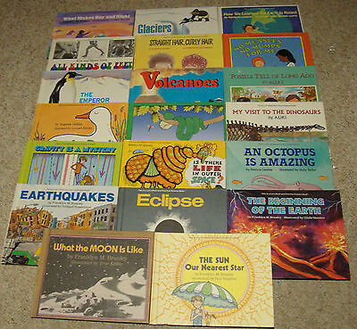 Lot - 20 Let's Read and Find Out Science Books Stage 2 Teacher's Homeschool HC