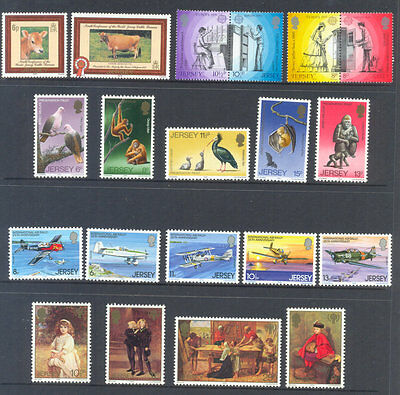 Jersey 1979 Year set Complete Commemoratives- mnh