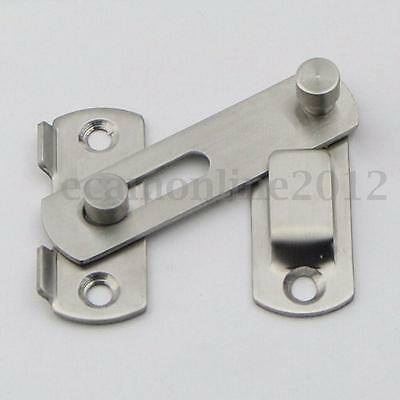 Window Gate Safety Door Guard Stainless Steel Latch Bolt Slide Lock 20x50x70mm