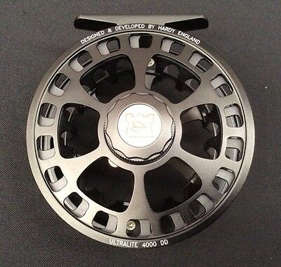 Hardy Ultralite Disc Drag 4000 DD #4/5/6 Fly Reel Black