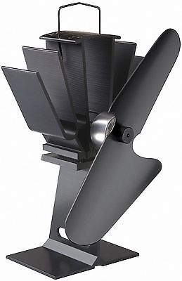 Caframo Ecofan 800 Original Stove Fan - Black Blade - Genuine Caframo