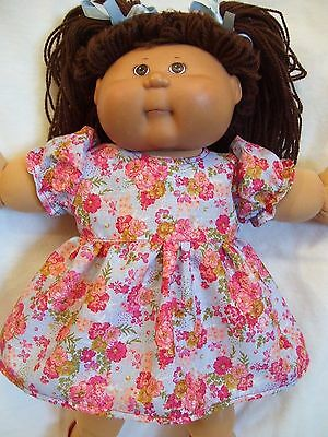 Cabbage Patch doll clothes, Dress Set set,fits 16inch-18inch Baby Dolls