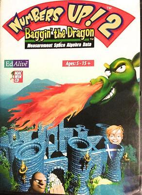 Numbers Up Maths Windows 7 Game Baggin the Dragon Practical Maths for Life 5-15+