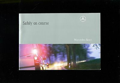 2008 Mercedes Vans Safety Systems Booklet