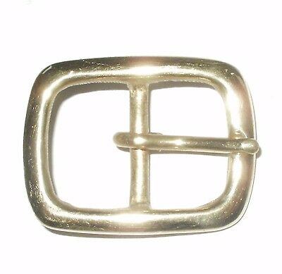 "1"" Inch - 25Mm Solid Cast Brass Belt Strap Full Buckle"