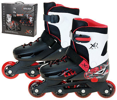 XQ Max Boy's Small Roller Blades Inline Skates Adjustable from Size 11 - 13