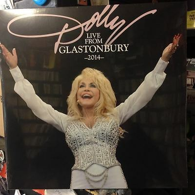 DOLLY PARTON 'LIVE FROM GLASTONBURY 2014' Double VINYL LP (2016)