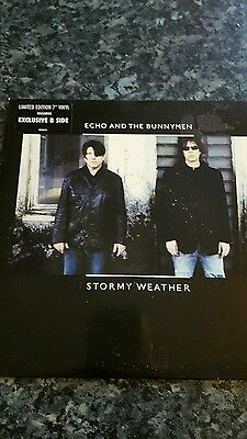 """Echo and the bunnymen Stormy weather 7"""" vinyl"""