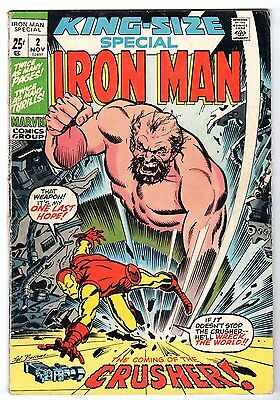 Iron Man King-Size Special #2, Very Good - Fine Condition.