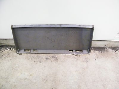 Universal skid steer quick attach Mounting mount US MADE plate EXTREME DUTY 3/8
