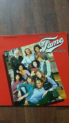 the kids from fame again lp vinyl soundtrack