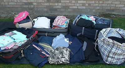 Large Job Lot Of Clothes Suitable For Car Boot/resale - Bargain !!!!!