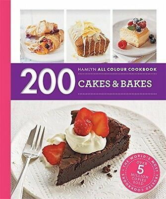 200 Cakes and Bakes Cookbook Hamlyn Baking Recipe NEW Paperback Book Home Treat