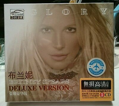 Britney Spears Glory Picture Disc 3 CD Boxset Makes Me Slumber Party Liar Clumsy