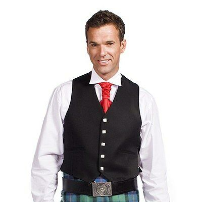 Argyll 5 Button Formal Vest Kilt Mens Size 38 Wool