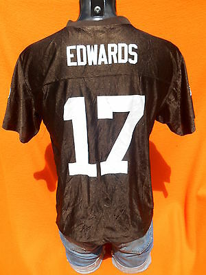 CLEVELAND BROWNS Jersey Maillot Camiseta #17 Edwards American Football NFL Wide