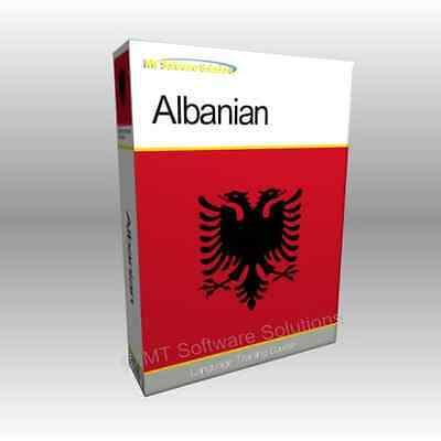 Learn to Speak ALBANIAN - Complete Language Training Course Disc with Audio