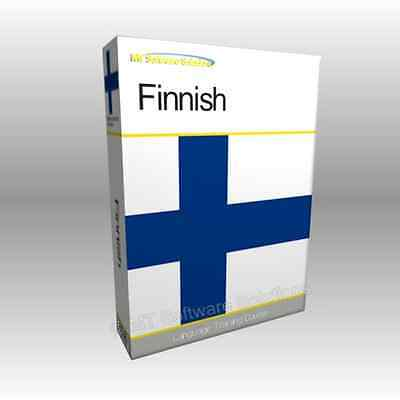 Learn to Speak FINNISH - Complete Language Training Course Disc with Audio
