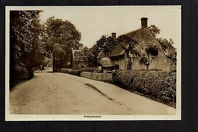 Woodhouse - real photographic postcard