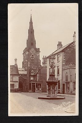 Uppingham - Market Place - real photographic postcard