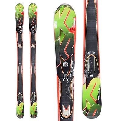 New K2 AMP A.M.P Rictor All Mountain Downhill Skis 167cm
