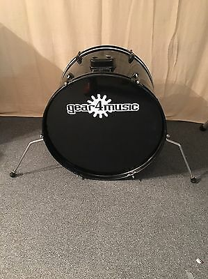 "22"" Bass Drum In Black Wrap For Drum Kit Trigger For Roland TD Series Kits"
