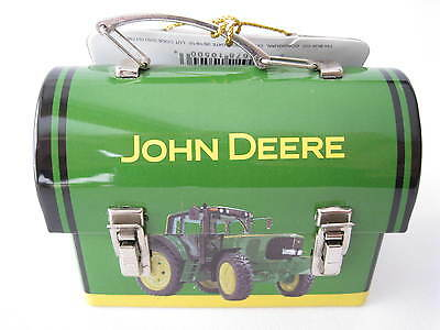 John Deere Collection Mini Carry-All Lunch Box & Mini Tractor
