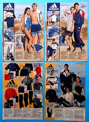 Adidas clothes  Ad Print Catalog  Clippings 40  pages