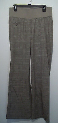 Classy Plaid Trouser Maternity Pants from Liz Lange - SIZE 6