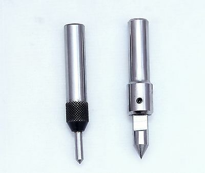 Set of 2 Spring Center Tap Guide Tool to Align Tap for threading Lathe Mill Jig