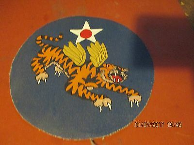 Wwii   Flying Tigers Hq 14 Th Aaf (A)  Flight Jacket   Patch