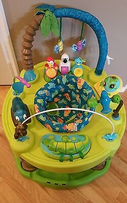 Evenflo ExerSaucer Triple Fun Life in the Amazon Local Pickup NorthBend, WA