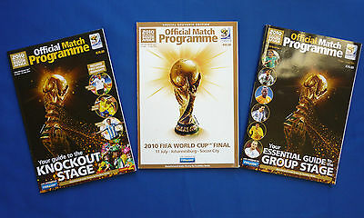 FIFA World Cup 2010 Final, Knockout Stage and Group Stage Programmes Very Good