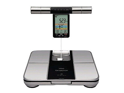 NEW Omron KARADA Scan Body Composition meter diet decision function HBF-701