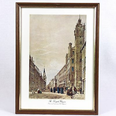 The Trongate, Glasgow by S.D. Swarbreck Framed Print *Free P&P*