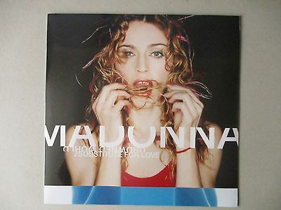 """Rare 12"""" Madonna-Drowned World/Substitute For Love (1998) (Mint)"""