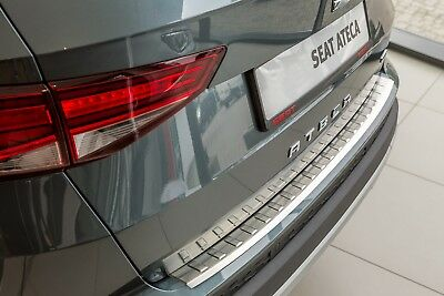 Stainless Steel Boot Edge Protector Fits For Seat Ateca Built 2016