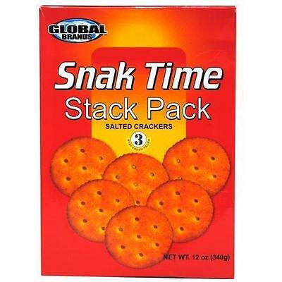 Purina Global Brands Snack Time Stack Pack Salted Crackers, 12 oz