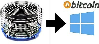 BitCoin mining contract (24h) -- Antminer U3 63Gh/s +- 5% SHA256