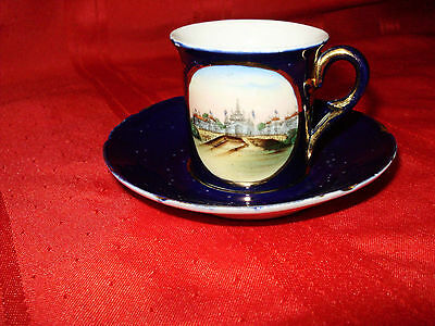PAN-AMERICAN EXPOSITION - Buffalo, N.Y. - Cup & Saucer - 1901