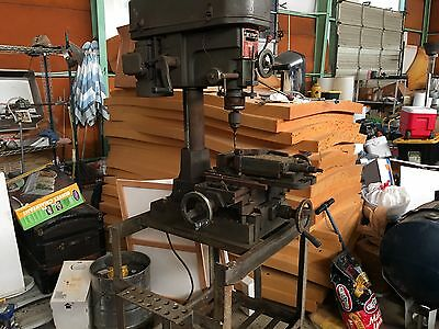 Enco Milling and Drilling Machine FR-15/20/30 Model 91002 12 speeds