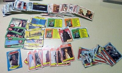 1980 Empire Strikes Back Star Wars Trading Cards 240+ Count