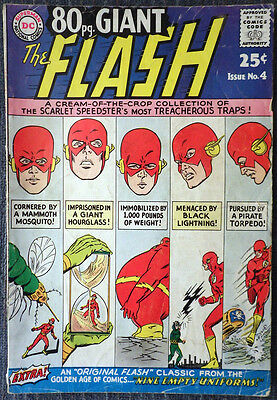 80 Page Giant #4 - The Flash - The Scarlet Speedster's Most Treacherous Traps!